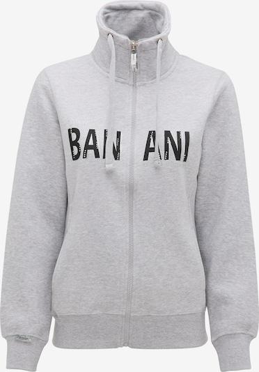BRUNO BANANI Sweatvest in de kleur Grijs / Zwart, Productweergave