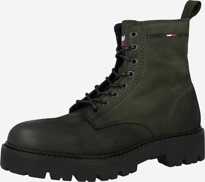 Tommy Jeans Schnürboots in navy / grün / rot / weiß, Produktansicht