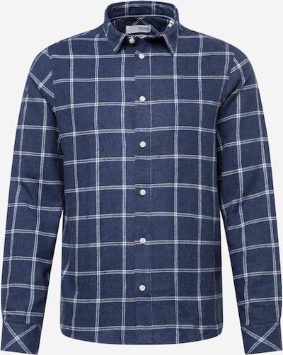 !Solid Skjorta i blå / vit, Produktvy