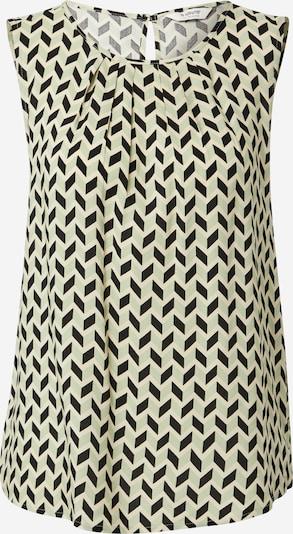 b.young Bluse 'Joella' in beige / hellgrün / schwarz, Produktansicht