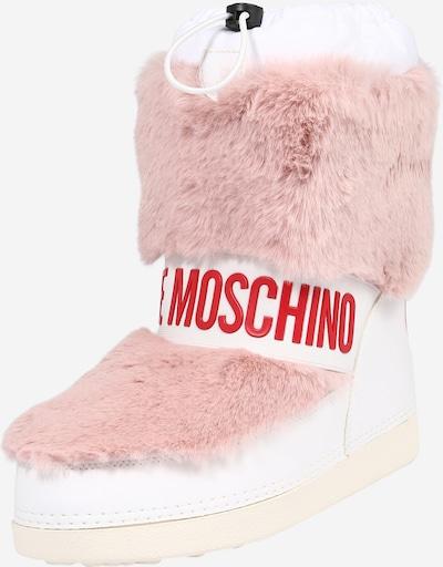 Love Moschino Botas de nieve en rosa / rojo / blanco, Vista del producto