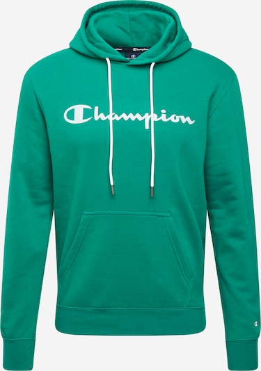 Champion Authentic Athletic Apparel Sweatshirt in grün / weiß, Produktansicht