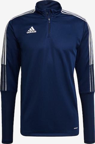 ADIDAS PERFORMANCE Sportsweatshirt 'Tiro 21' in Blau