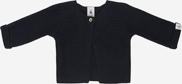PETIT BATEAU Knit Cardigan in Blue