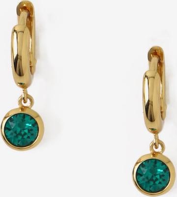 Orelia Fülbevalók - zöld