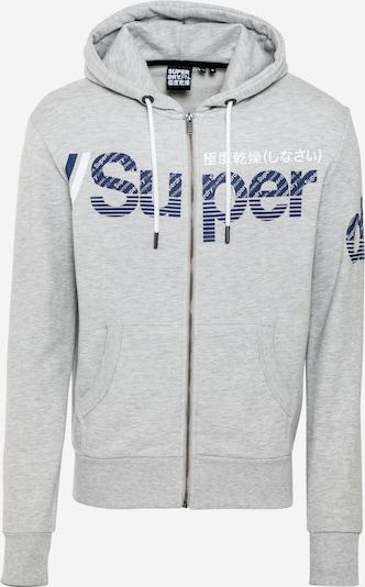 Superdry Mikina s kapucí - chladná modrá / šedá, Produkt