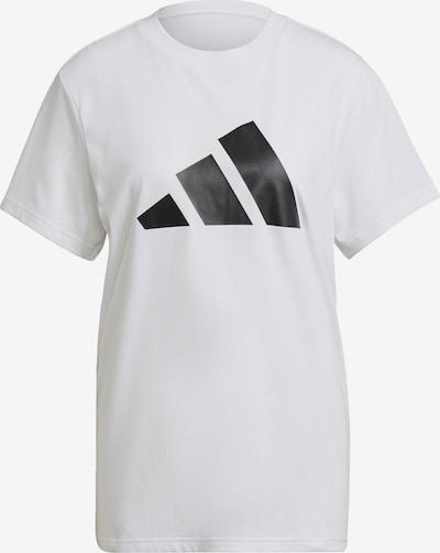Sportiniai marškinėliai iš ADIDAS PERFORMANCE, spalva – juoda / balta, Prekių apžvalga
