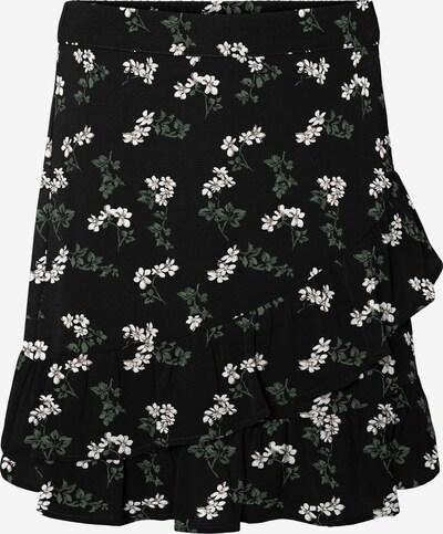VERO MODA Sukně 'Saga' - trávově zelená / černá / bílá, Produkt