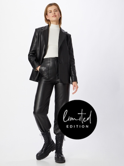 ABOUT YOU Limited Blazer 'Melisa' i sort, Modelvisning