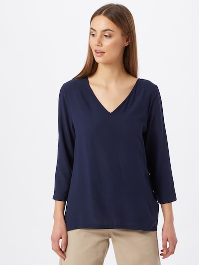 ABOUT YOU Bluse 'Farine Blouse' in dunkelblau, Modelansicht