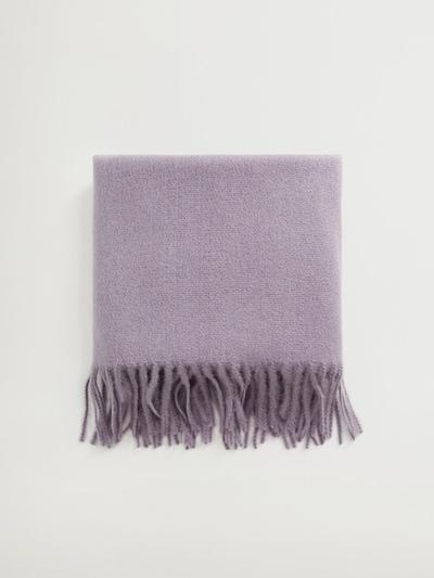 MANGO Schal in pastelllila, Produktansicht