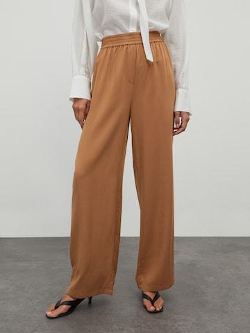 Pantaloni 'Franka' di EDITED in marrone
