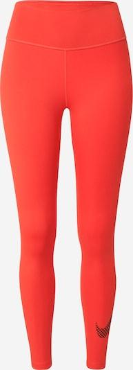 NIKE Παντελόνι φόρμας σε πορτοκαλοκόκκινο / μαύρο, Άποψη προϊόντος