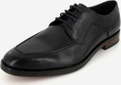 bugatti Schnürschuh in schwarz, Produktansicht