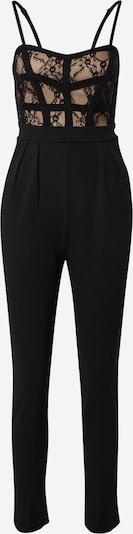 Skirt & Stiletto Combinaison 'Irina' en noir, Vue avec produit