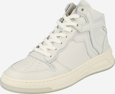 Sneaker înalt BRONX pe alb kitt, Vizualizare produs