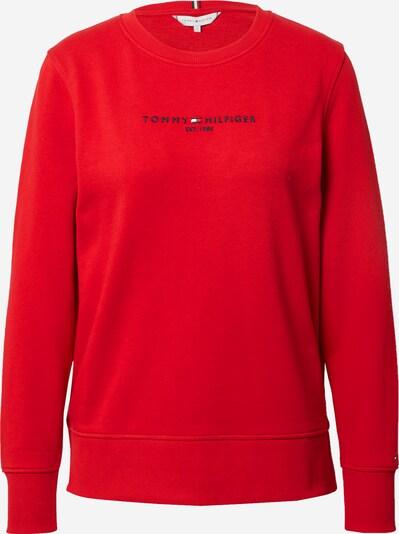 TOMMY HILFIGER Sweatshirt in dunkelblau / rot / weiß, Produktansicht
