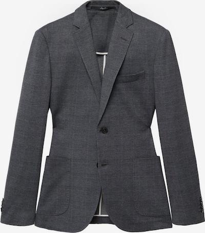 MANGO MAN Sakko 'Emma-i' in grau / dunkelgrau, Produktansicht