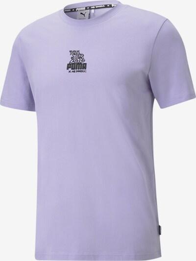 PUMA T-shirt fonctionnel en violet, Vue avec produit