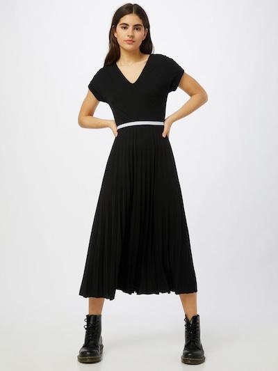 STREET ONE Kleid in schwarz / weiß, Modelansicht