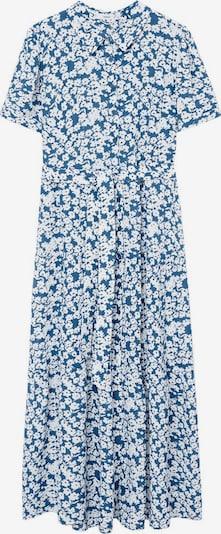 MANGO Kleid 'Shirty' in himmelblau / weiß, Produktansicht