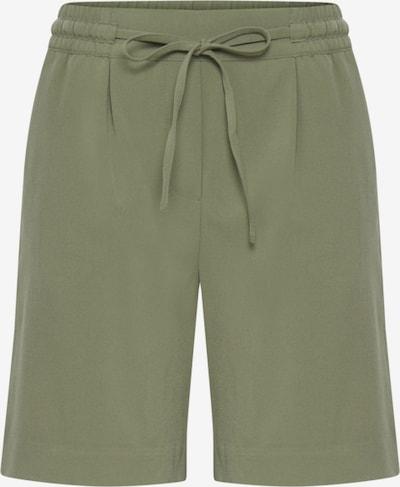 b.young Shorts  'Danta' in grün / khaki / oliv, Produktansicht