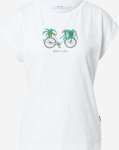 Tricou 'Visby' DEDICATED. pe turcoaz / gri închis / verde / portocaliu închis, Vizualizare produs