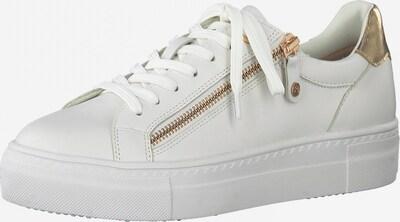 arany / fehér TAMARIS Rövid szárú edzőcipők, Termék nézet