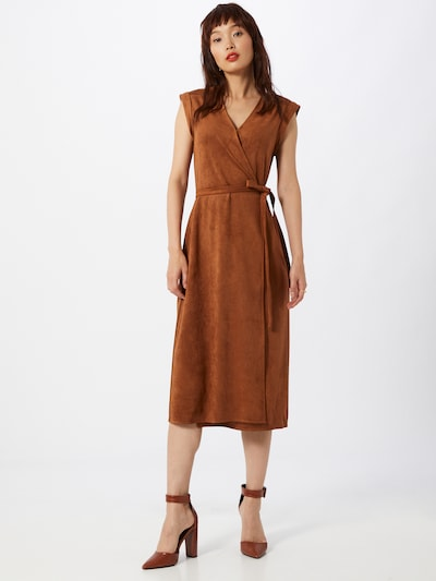 Banana Republic Kleid in camel, Modelansicht