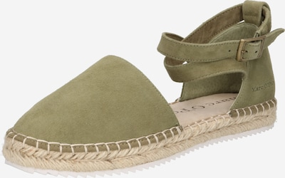 Marc O'Polo Espadrilles 'Gem' in khaki, Produktansicht