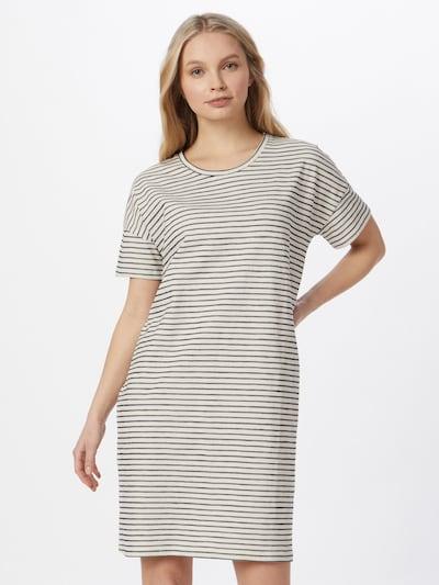 basic apparel Kleid 'Saga' in schwarz / weiß, Modelansicht