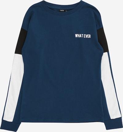 LMTD Shirt 'NOEL' in dunkelblau / schwarz / weiß, Produktansicht