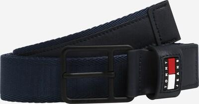 Curea Tommy Jeans pe bleumarin / roșu / alb, Vizualizare produs