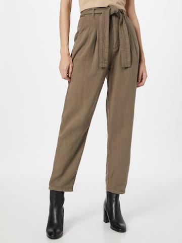Pepe Jeans Voltidega püksid 'CLOE', värv roheline
