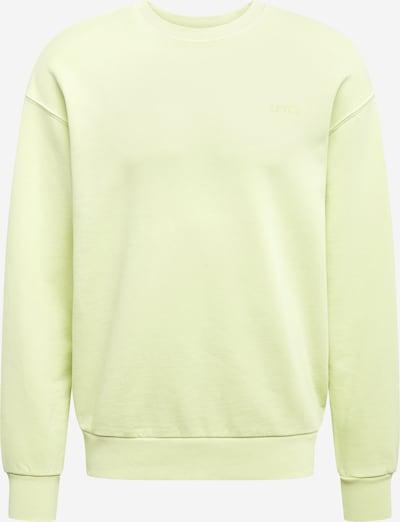 LEVI'S Sweater ' Relaxed Mv Crew ' in gelb, Produktansicht