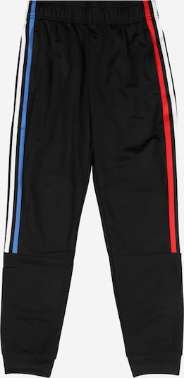 ADIDAS ORIGINALS Trousers in blue / light red / black / white, Item view