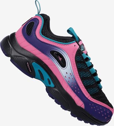 REEBOK Sneaker in türkis / dunkellila / pink / schwarz, Produktansicht