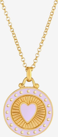 ELLI Halskette Herz in Gold