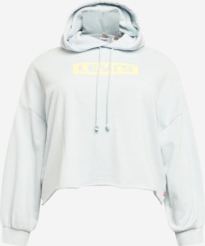 Levi's® Plus Sweatshirt in gelb / hellgrau, Produktansicht