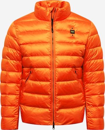 Blauer.USA Winterjas in Oranje