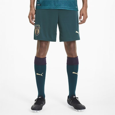 PUMA Shorts in grün: Frontalansicht