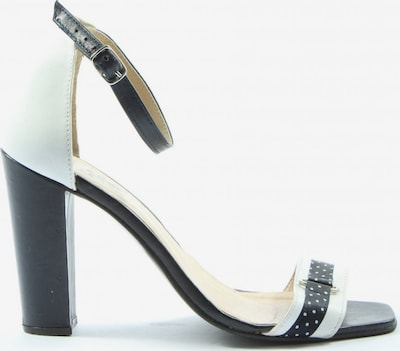 ALBA MODA Plateau-Sandaletten in 38 in schwarz / weiß, Produktansicht