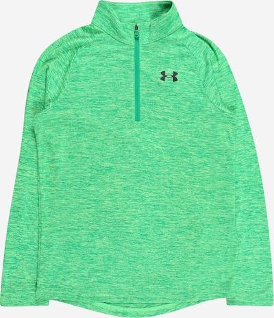 UNDER ARMOUR Sportief sweatshirt in de kleur Groen gemêleerd / Zwart, Productweergave