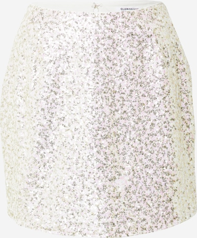 GLAMOROUS Skirt in Pink / Silver / White, Item view