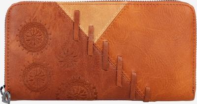 Desigual Portemonnee 'Parker Fiona' in de kleur Karamel / Cognac, Productweergave