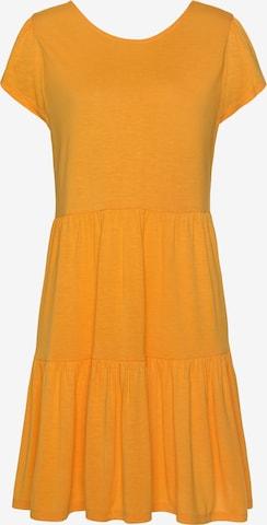 LASCANA Summer Dress in Yellow