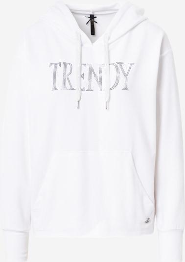 Bluză de molton Key Largo pe negru / argintiu / alb murdar, Vizualizare produs