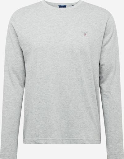 Tricou GANT pe gri deschis, Vizualizare produs