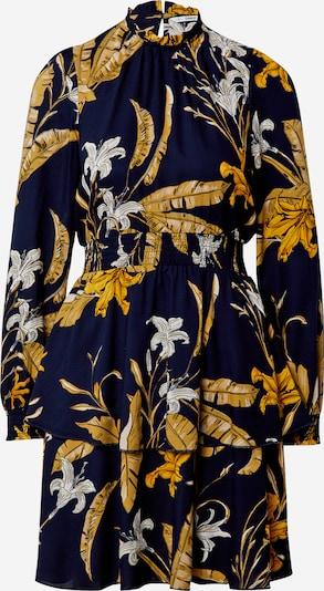 ONLY Obleka 'PALM' | nočno modra / zlato-rumena / bela barva, Prikaz izdelka