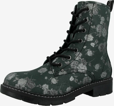 Dockers by Gerli Lace-up bootie in Grey / Dark green, Item view